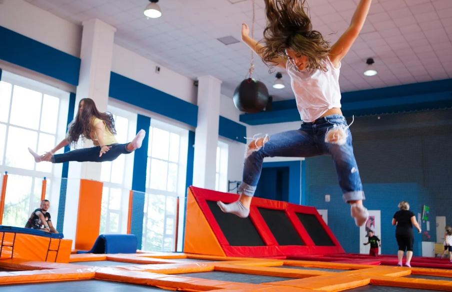 Бизнес идея - прыжки на батутах