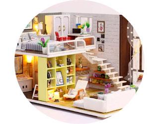 Создания кукольных домиков