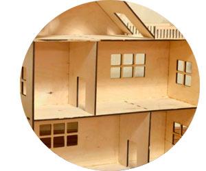 Закупка расходных материалов для создания домиков