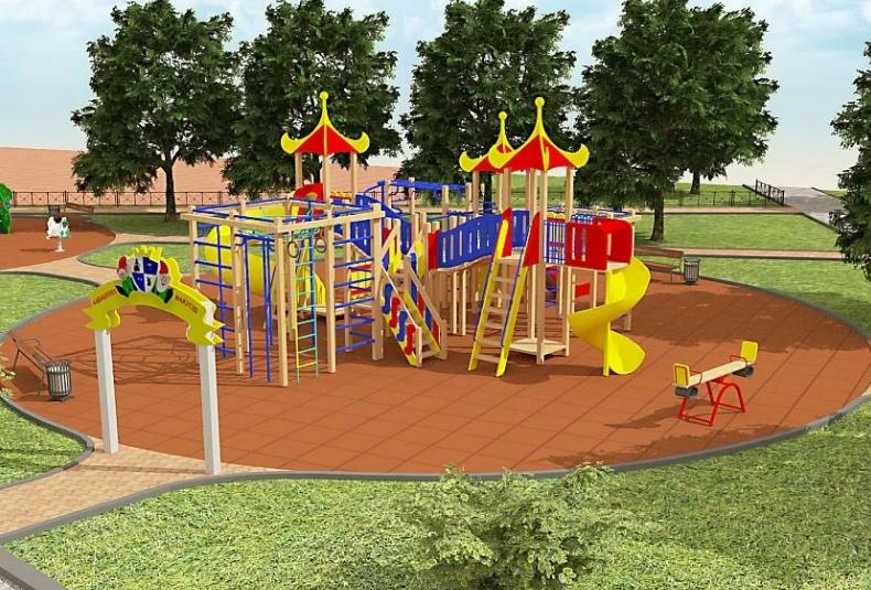 Бизнес идея по благоустройству детских площадок