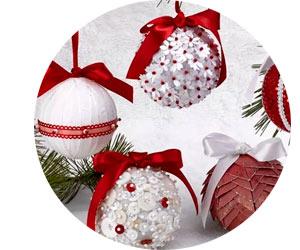 Изготовление новогодних игрушек и элементов праздничного декора