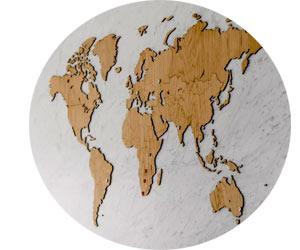 Производство настенных карт