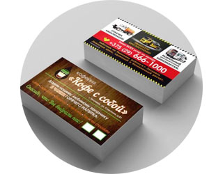 Производство оригинальных визиток и флаеров