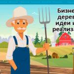 Бизнес в деревне идеи и их реализация