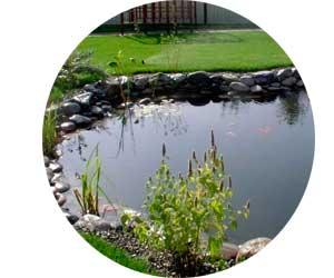 Производство небольших прудов