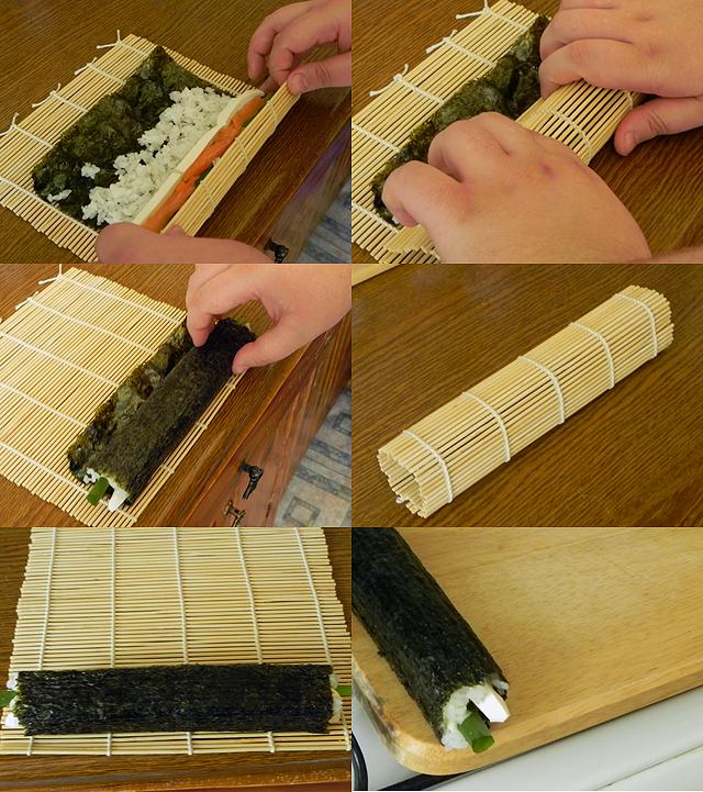 сделать суши и роллы дома
