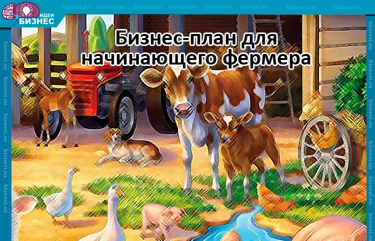 Бизнес-план для начинающего фермера
